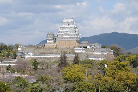 イーグレひめじから見る姫路城全景