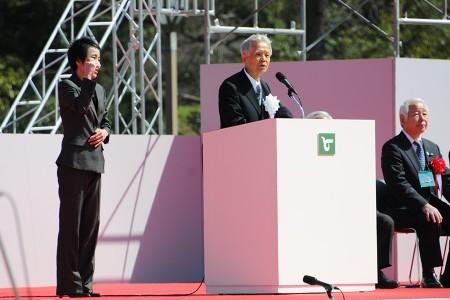 石見 利勝・姫路市長による祝辞