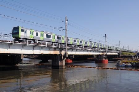 E235系トウ01編成 東海道線試運転2日目