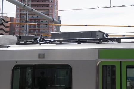 3号車・モハE235-3 電車線路設備モニタリングシステム