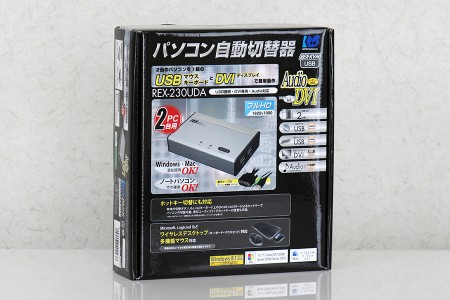 REX-230UDA 外箱表面