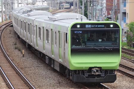 14:23 回9737M E235系トウ01編成 @ 恵比寿〜渋谷
