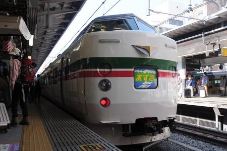 189系トタM52編成 1号車・クハ189-509 @ 新宿