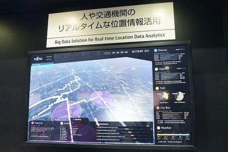 人や交通のリアルタイムな位置情報活用