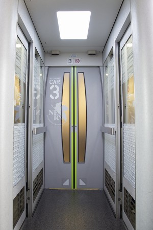 3号車の客室ドア