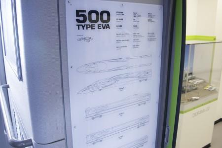 「500 TYPE EVA」諸元表