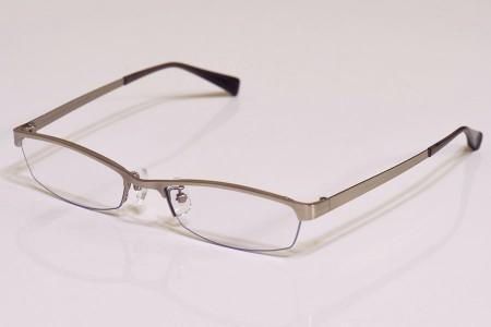 メガネを開いたところ
