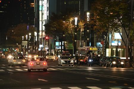 00:26 12/7は終前灯が点いていた @ 銀座