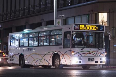00:42 終車灯の表示がないB5001号車 KL-UA452PAN