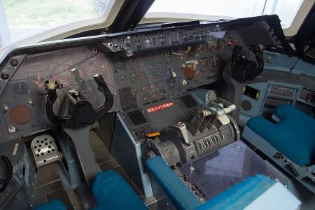 訓練用の操縦席
